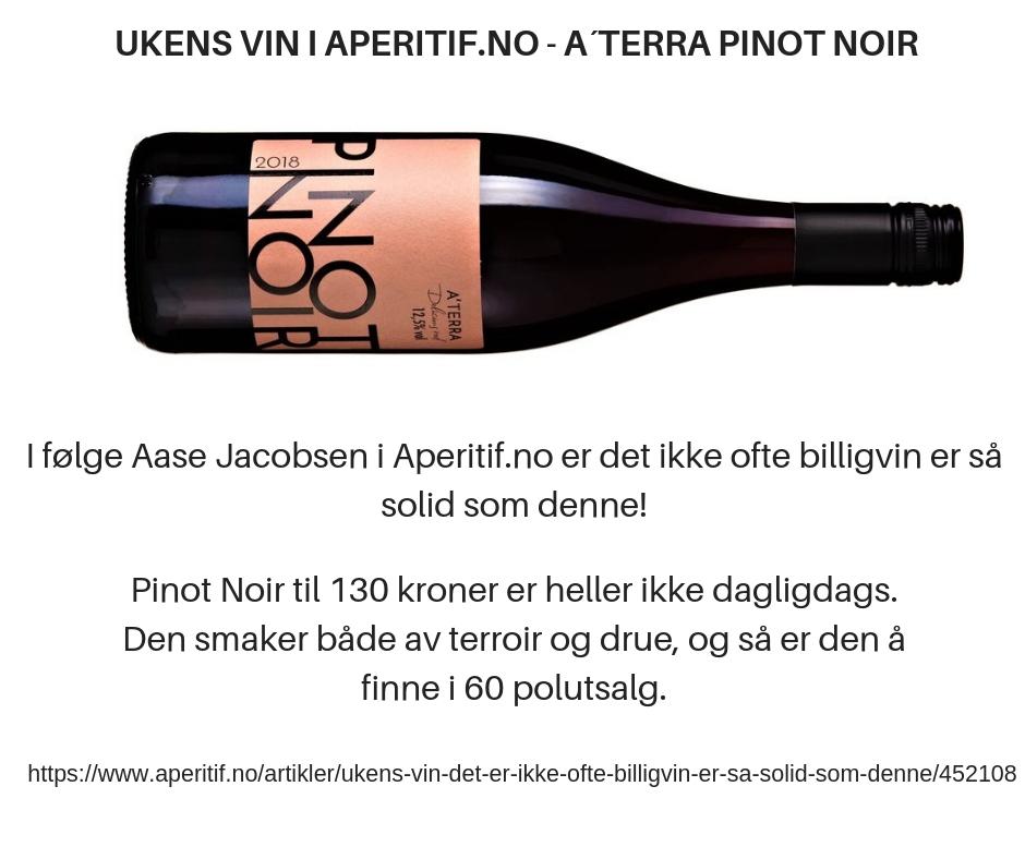 A´Terra Pinot Noir 2018